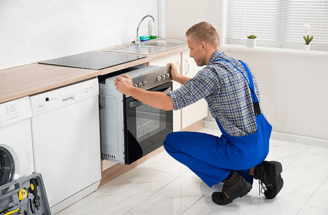 appliance in kitchen