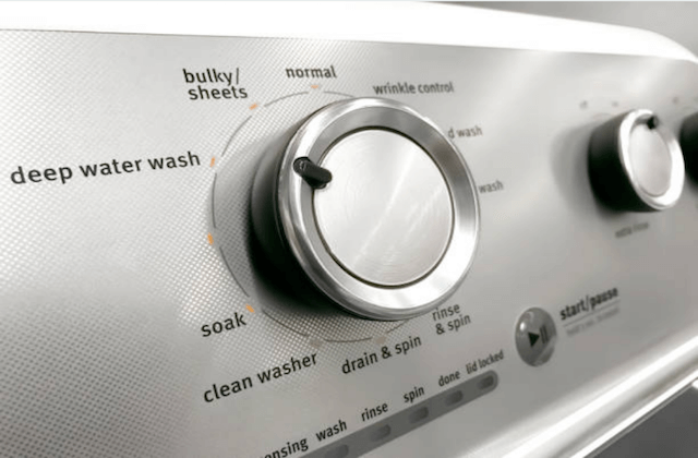 washer dryer dials